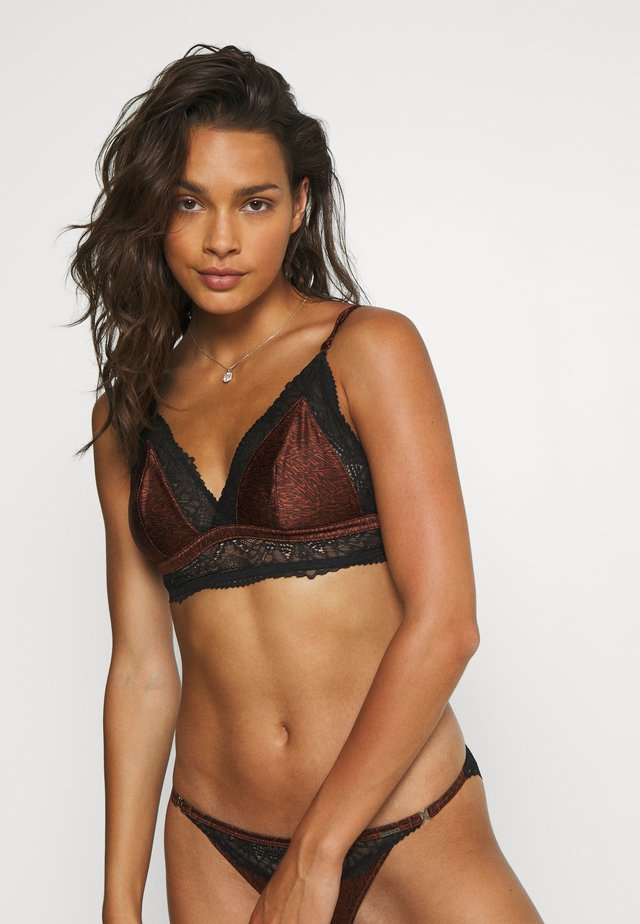 AUTO BRALET - Triangel BH - brown mix