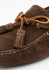 Polo Ralph Lauren - ANDERS LOAFR DRIVER - Mokasíny - chocolate brown - 3