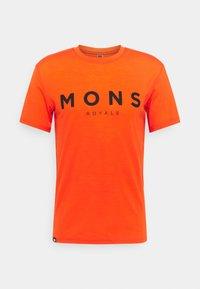 Mons Royale - ICON - Triko spotiskem - orange smash - 0