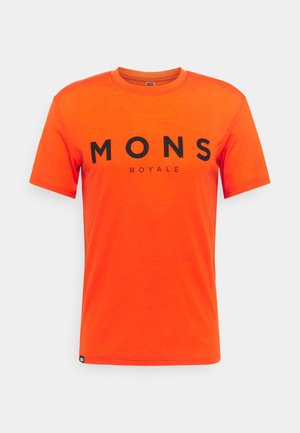 ICON - T-Shirt print - orange smash