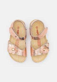 Superfit - FUSSBETTPANTOFFEL - Sandals - bronze - 3