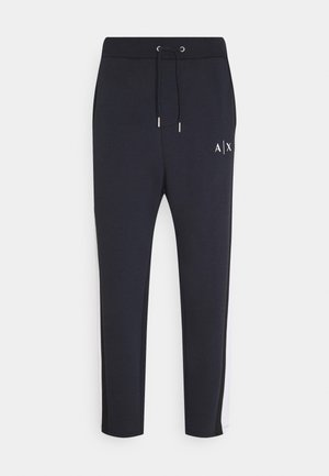 JOGGER - Tracksuit bottoms - navy/white/black