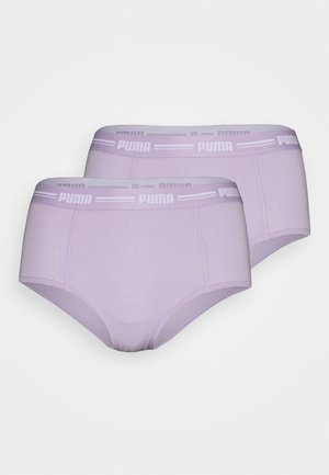 WOMEN MINI SHORT 2 PACK - Bokserit - purple