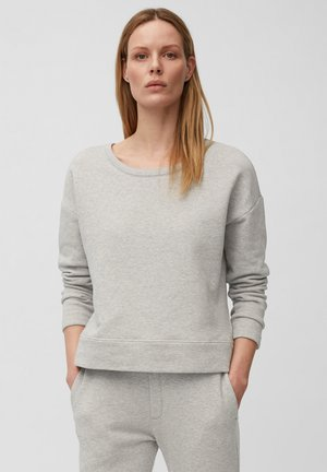 Sweatshirt - medium grey melange