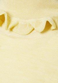 Victoria Beckham - FLUID MELANGE FRILL DETAIL  - Jumper - banana - 8