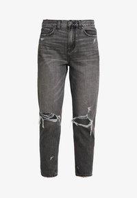 American Eagle - MOM - Jean slim - dark gray - 4