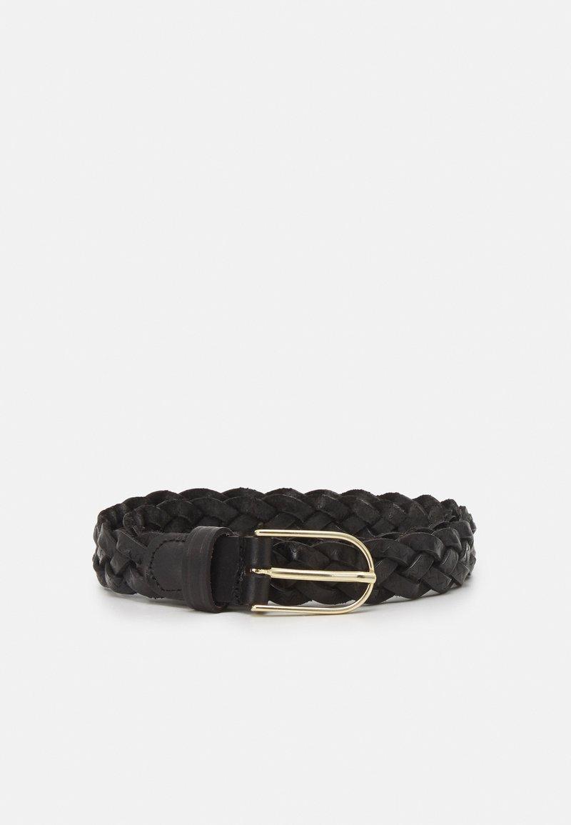 Vanzetti - Braided belt - black/gold-coloured