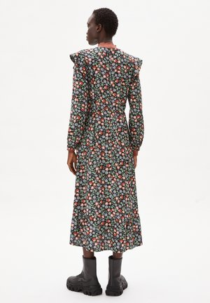VIRVAA  MIMOSE BLOOMS - Day dress - black