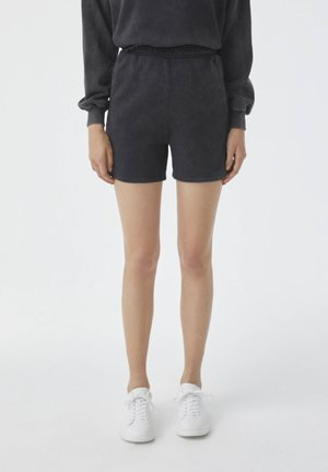 Shorts - mottled dark grey