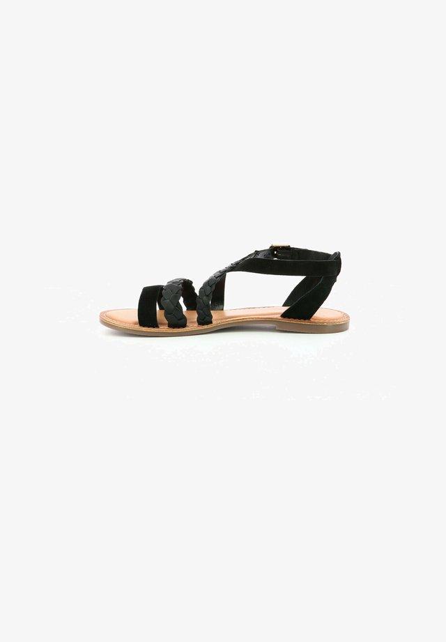 DIAPPO - Sandales - noir