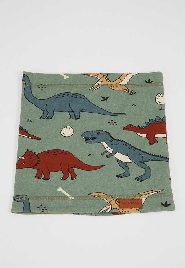 LOOP FUNNY DINOSAURS - Snood - green