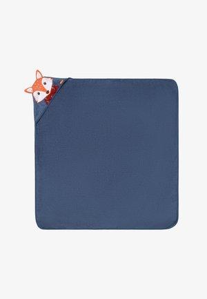 Bath towel - navy/fox