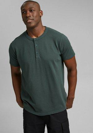T-shirt - bas - teal blue