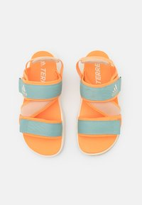 adidas Performance - TERREX SUMRA - Outdoorsandalen - haze orange/core white/haze beige - 3