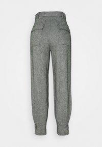 EDITED - FLEUR TROUSERS - Pantalon classique - grau - 1