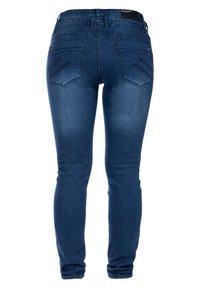S'questo - Slim fit jeans - dark indigo - 1