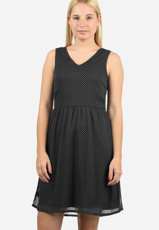 CHARLY - Korte jurk - black dot
