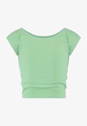 Basic T-shirt - pastel leaf