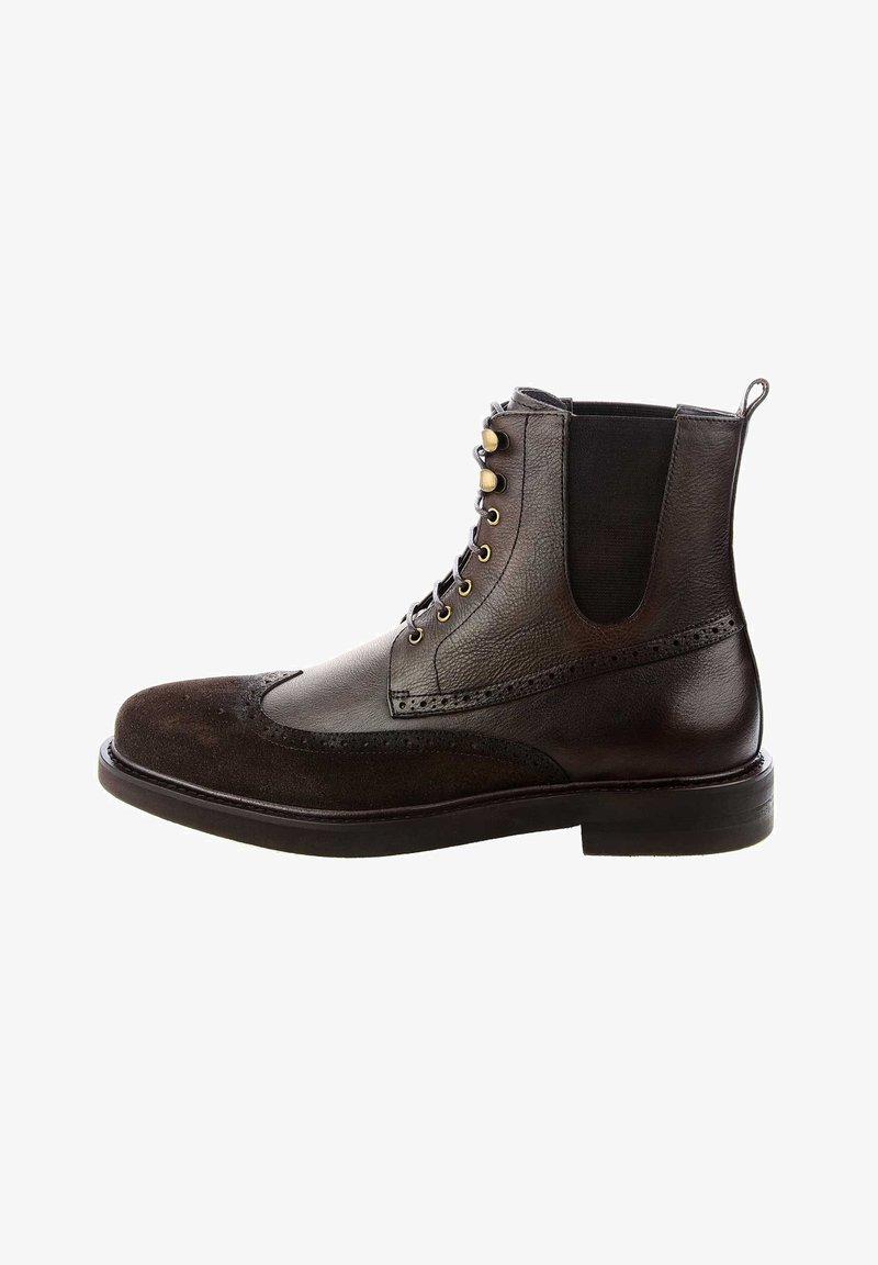 PRIMA MODA - AMANTEA - Kovbojské/motorkářské boty - brown