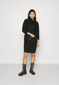 Opus - WALINE - Jersey dress - black - 1