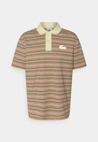 Lacoste LIVE - UNISEX - Polo shirt - briquette/multicolour - 0