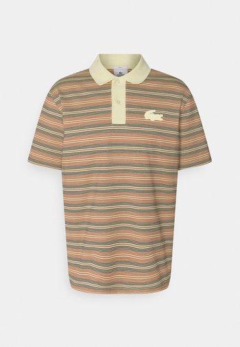 UNISEX - Polo shirt - briquette/multicolour