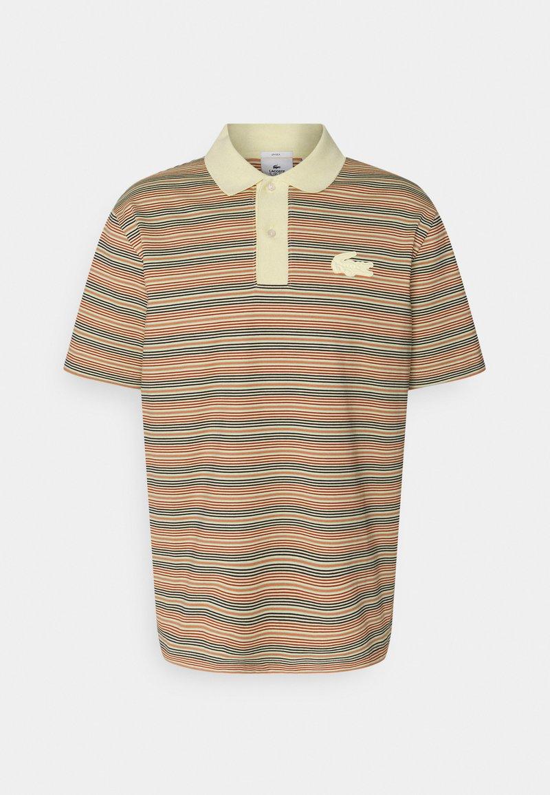 Lacoste LIVE - UNISEX - Polo shirt - briquette/multicolour