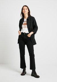 G-Star - CODAM HIGH KICK 7/8 - Flared jeans - black - 1