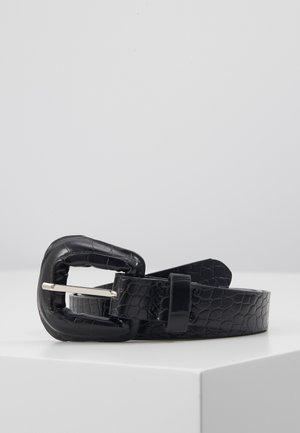 BRIGHTY BELT - Gürtel - black