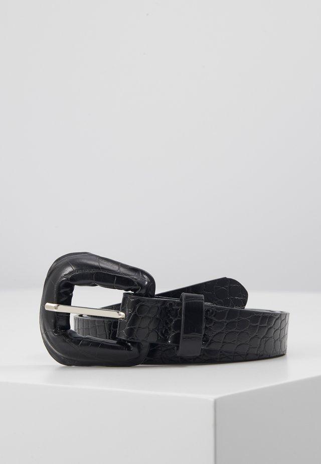 BRIGHTY BELT - Cintura - black