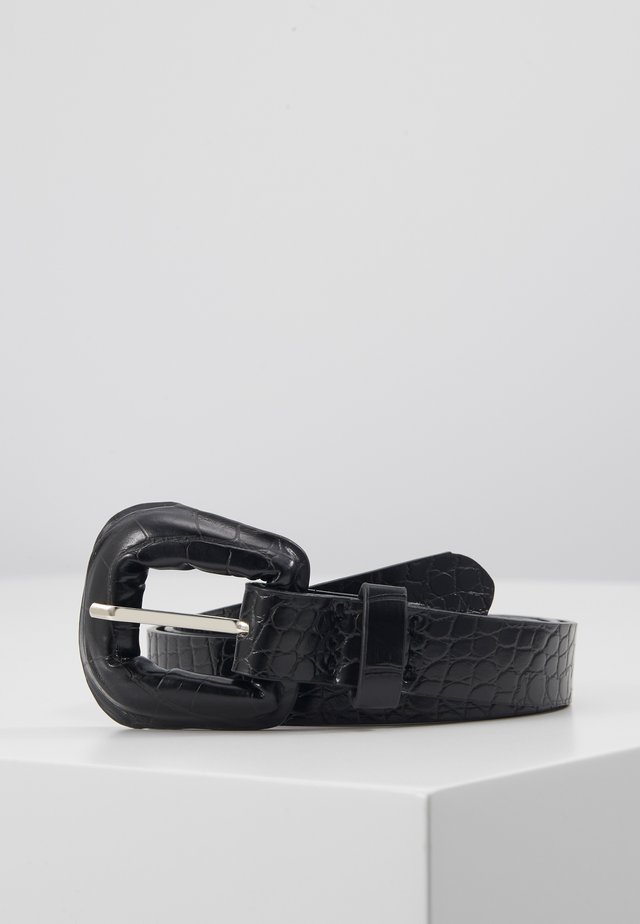 BRIGHTY BELT - Pásek - black