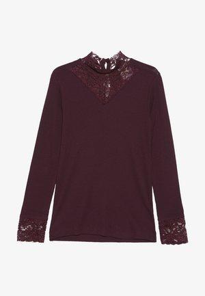 OLACE TEE - Långärmad tröja - winetasting