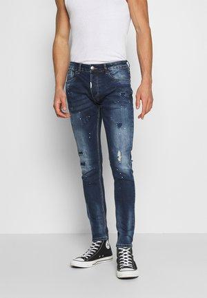 LAZARO - Slim fit jeans - indigo