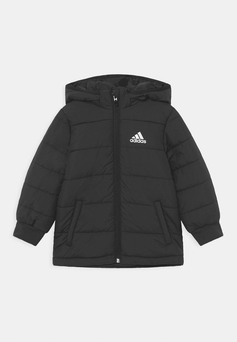 adidas Performance - PADDED UNISEX - Winter jacket - black/white