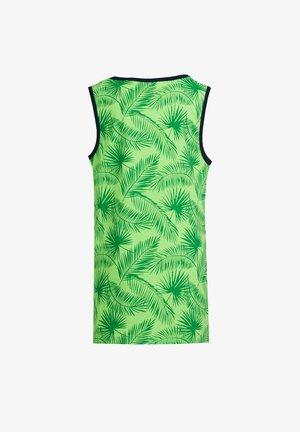 MET TEKSTOPDRUK - Top - bright green