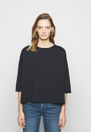 KAORI - Long sleeved top - dark blue