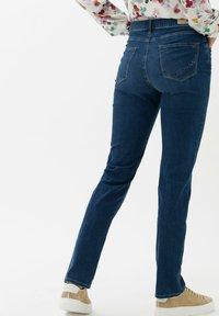 BRAX - STYLE CAROLA - Slim fit jeans - used regular blue - 2