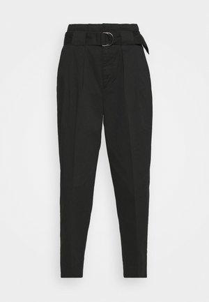TAPER TROUSER - Trousers - black