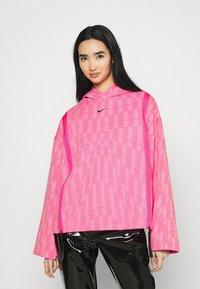 Nike Sportswear - HOODIE - Sweatshirt - hyper pink/lotus pink/black - 0