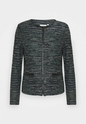 BOUCLE - Blazer - mint/black/white