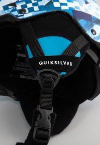 Quiksilver - EMPIRE B HLMT BNL5 - Helm - brilliant blue check forever - 4