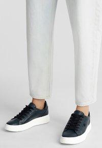 Esprit - Sneakers laag - dark teal green - 1