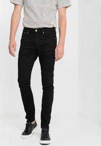 Calvin Klein Jeans - 016 SKINNY - Jeans Skinny Fit - stay black - 0