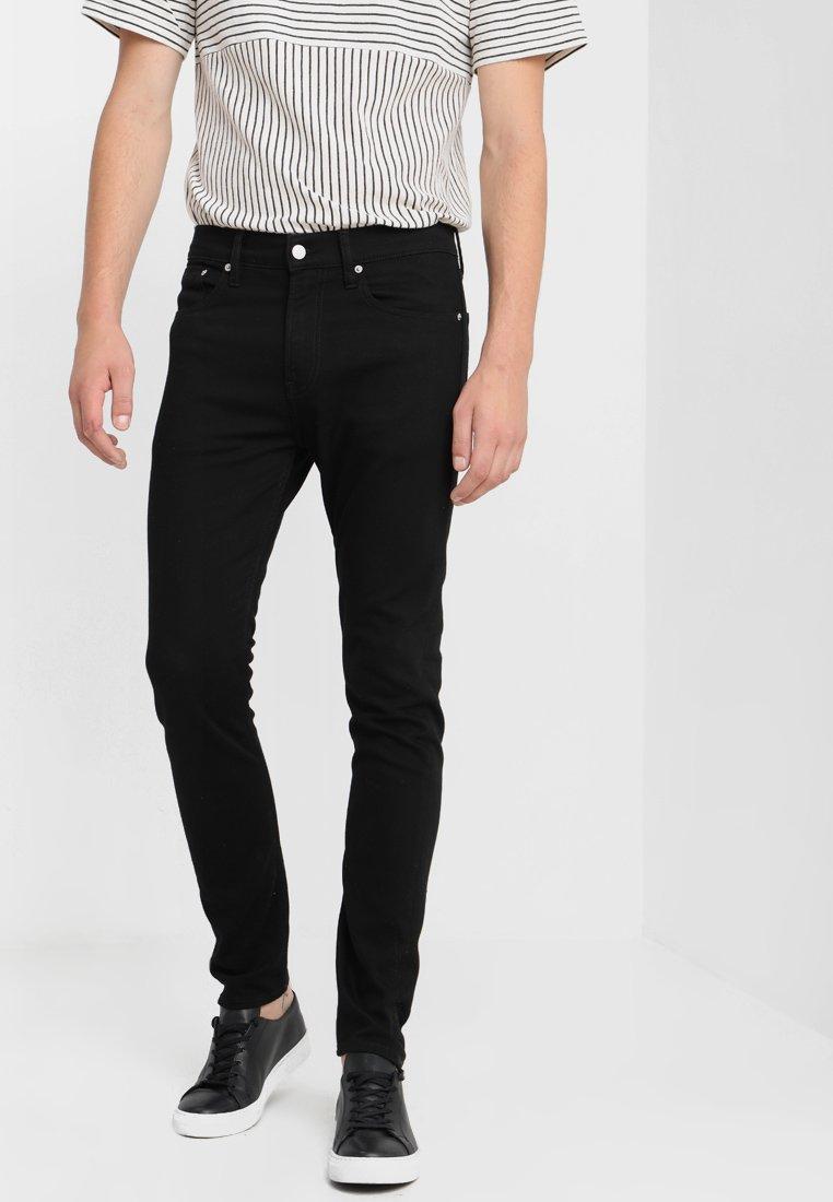 Calvin Klein Jeans - 016 SKINNY - Jeans Skinny Fit - stay black