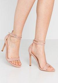 Even&Odd - High Heel Sandalette - nude - 0