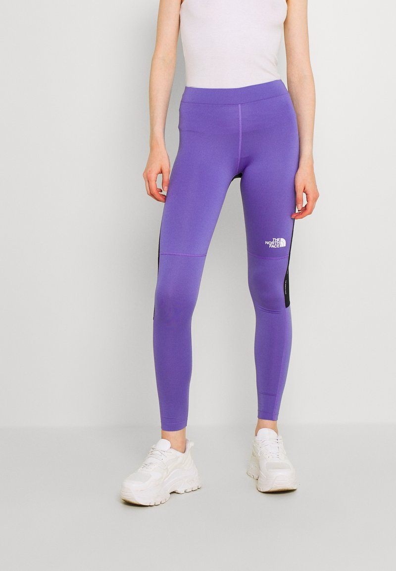 The North Face - TIGHT - Leggings - Trousers - pop purple