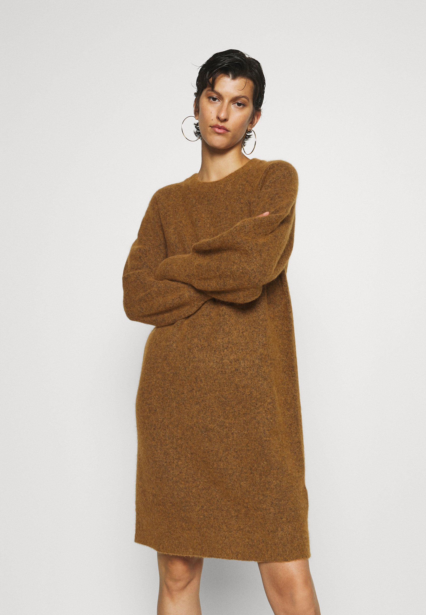 Mujer SLFSIF KAYA DRESS O NECK  - Vestido de punto