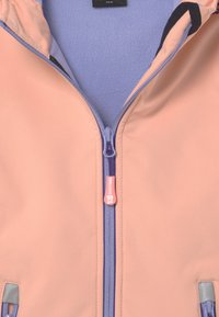 TrollKids - GIRLS TROLLFJORD - Soft shell jacket - apricot/lavender/dark purple - 3