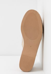 River Island - Heeled mules - gold - 6