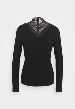 VISOLITTA - Long sleeved top - black